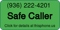 Phone Badge for 9362224201